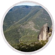 Mt Gilbrator Np - The Pinnicals Round Beach Towel