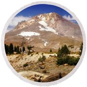 Mt. Hood Round Beach Towel