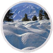 2m6403-mt. Tom From Sherwin Grade V Round Beach Towel