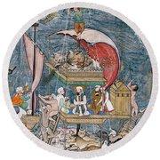 Mughal - Noah's Ark Round Beach Towel