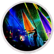 Mule #35 Psychedelically Enhanced 2 Round Beach Towel