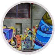 Mural - Wall Art Round Beach Towel
