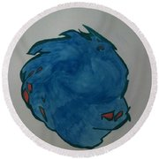 Murphy Round Beach Towel