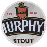 Murphy's Stout Round Beach Towel