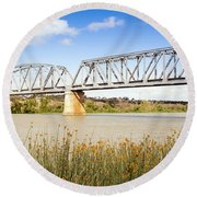 Murray Bridge Round Beach Towel
