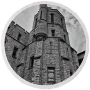 Museum At The Castle  8301 Round Beach Towel