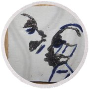 Musicman - Tile Round Beach Towel