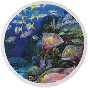 Mutton Reef Re002 Round Beach Towel