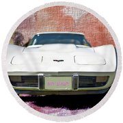 My Baby - Featured In Vehicle Enthusiasts Group Round Beach Towel