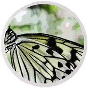 My Butterfly Round Beach Towel
