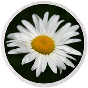My Daisy Round Beach Towel