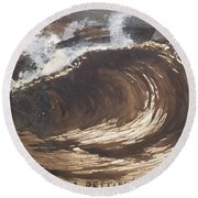 My Destiny Round Beach Towel