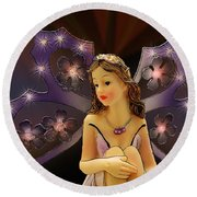 My Fairy Round Beach Towel