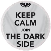 My Keep Calm Star Wars - Galactic Empire-poster Round Beach Towel