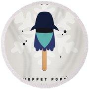 My Muppet Ice Pop - Zoot Round Beach Towel by Chungkong Art