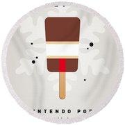 My Nintendo Ice Pop - Donkey Kong Round Beach Towel by Chungkong Art