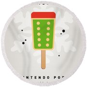 My Nintendo Ice Pop - King Bowser Round Beach Towel