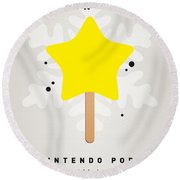 My Nintendo Ice Pop - Super Star Round Beach Towel