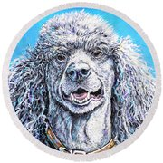 My Standard Of Excellence Round Beach Towel