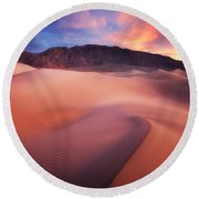 Mysterious Mesquite Round Beach Towel by Darren  White