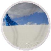Mystic Blue 10 Round Beach Towel