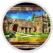 Mystic Church - Featured In Comfortable Art Group Round Beach Towel