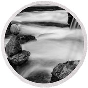 Mystic River S2 Iv Round Beach Towel by Marco Oliveira