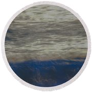 Mystical Waters Round Beach Towel