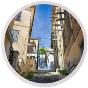 Nafplio Round Beach Towel