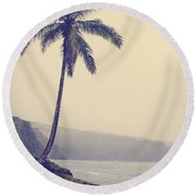 Nahiku Road Round Beach Towel