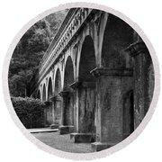 Nanzenin Temple Aqueduct Round Beach Towel