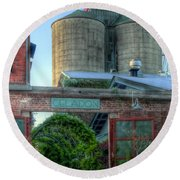 Napa Mill Round Beach Towel