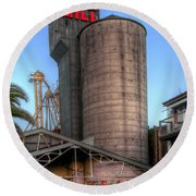 Napa Mill II Round Beach Towel