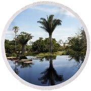 Naples Botanical Garden  3083 Round Beach Towel