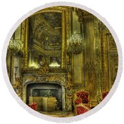 Napoleon IIi Room Round Beach Towel