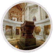 Napoleon's Tomb - A Different View  Round Beach Towel