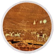 Narbona Expedition Round Beach Towel