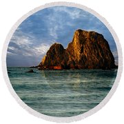 Narooma Again Round Beach Towel