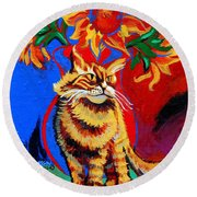 Natasha Round Beach Towel