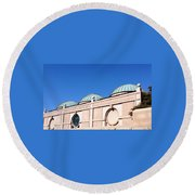 National Museum Of African Art Round Beach Towel
