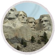 National Treasure Round Beach Towel