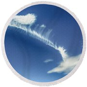 Natural Abstract Creations In Nature No 103 Round Beach Towel
