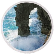 Natural Arch II Round Beach Towel