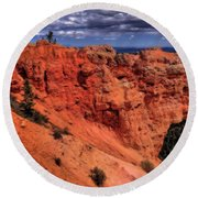 Natural Bridge In Bryce Canyon Round Beach Towel