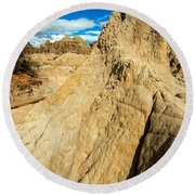 Natural Stone Pillar Round Beach Towel