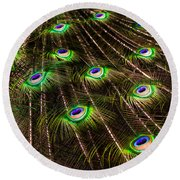 Nature Abstracts Round Beach Towel