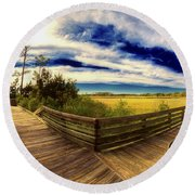 Nature Preserve Round Beach Towel
