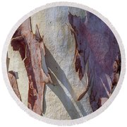 Natures Abstract Round Beach Towel