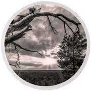 Natures Arch Round Beach Towel