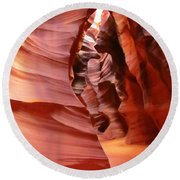 Natures Art Round Beach Towel